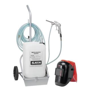 SATA Abstrahlset Behälter fahrbar - SATA 38166