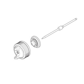 Düsensatz SATA LP90 ROB Laborprüfpistole MSB 1,35, mit Spritzbild und Prüfprotokoll - SATA 81786